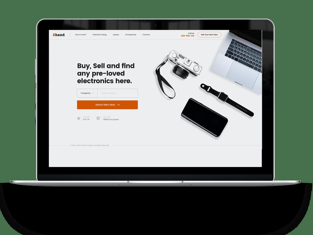 Ecommerce website hero ecommerce website