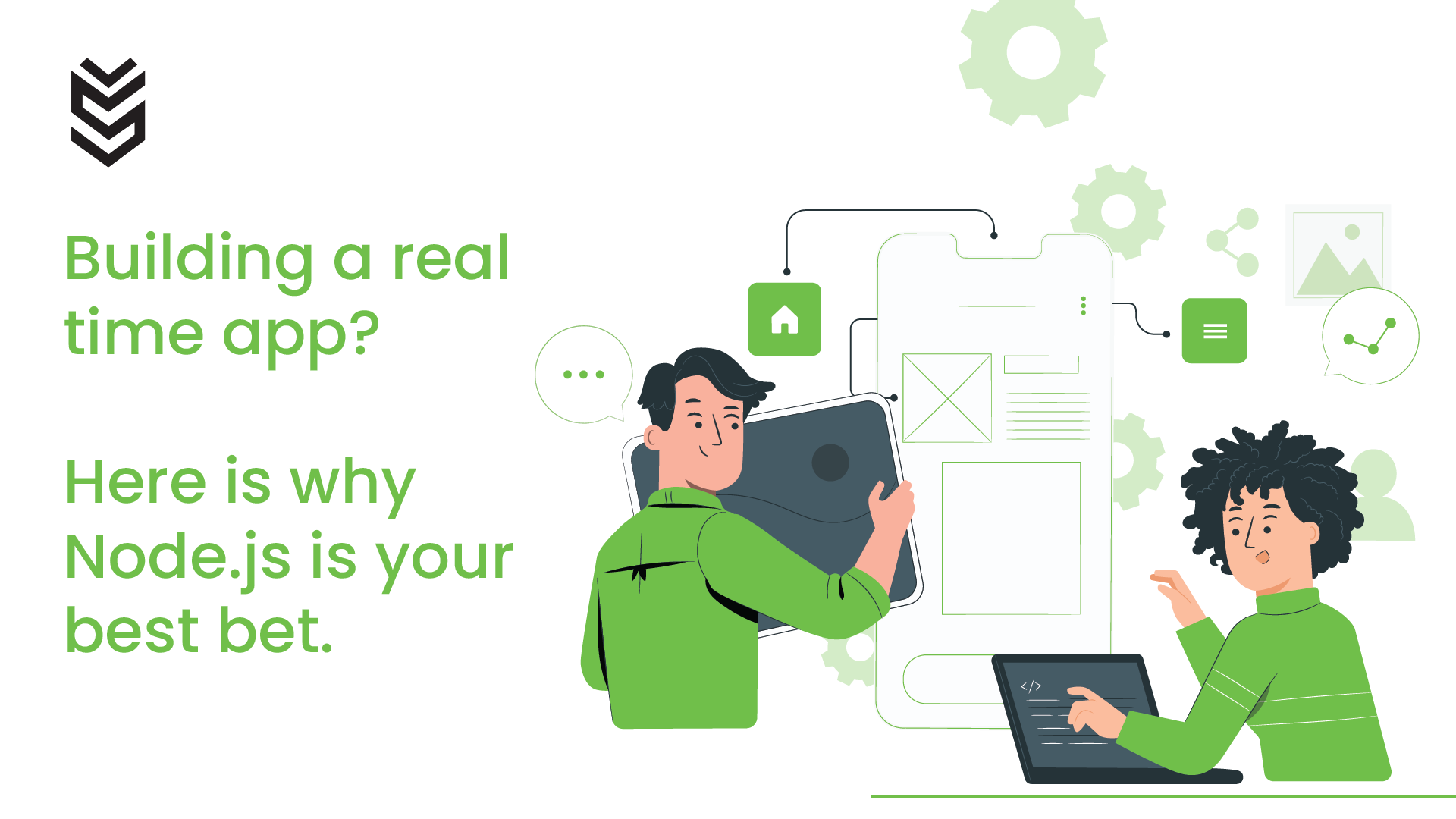 Building a real-time app? Here's why node. Js is your best bet.
