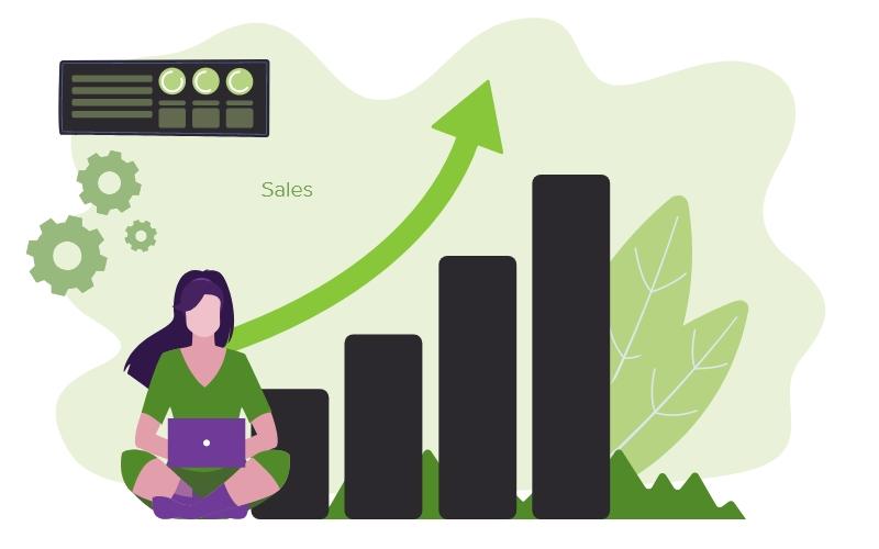 Improved sales %e2%80%93 1 shopify store development